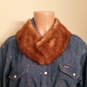 Vintage Accessories - Fur collar